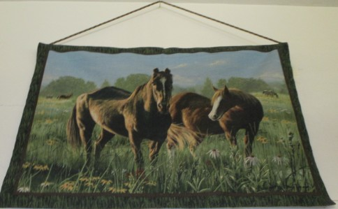 sas-fabric-store-horse-tapestry-wall photo